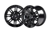 10×7 Black Mirage Wheel