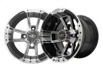 10×7 Machined Black Apex Wheel