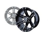 12×7 Black Nitro Wheel