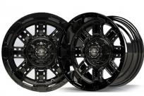 12×7 MJFX Black Transformer Wheel