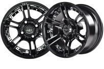 14×7 Black Mirage Wheel