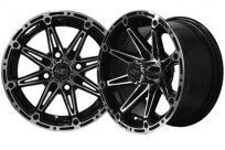 14×7 Machined Black Element Wheel