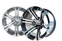 14×7 Machined Black Nitro Wheel