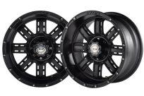 14×7 Matte Black Transformer Wheel